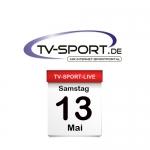 TV-SPORT-LIVE: Samstag, 13.05.2017