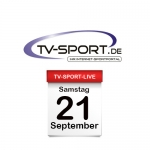 Das TV-Sport Tagesprogramm am Samstag, 21.09.2019